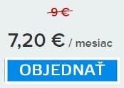 2-ročné predplatné e-shopu, balíček MINI