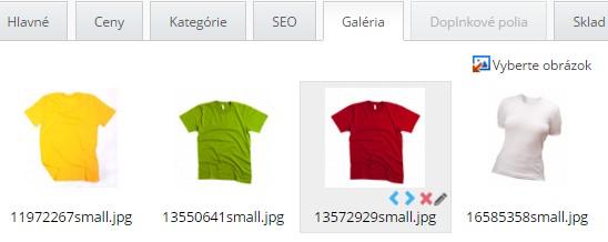 klonovanie produktu a produktovej galérie