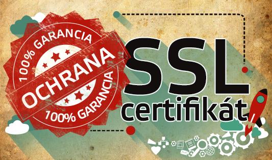 ssl certifikát pre webstránky a e-shop zdarma