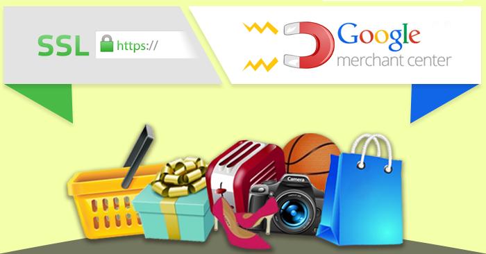 google nákupy a ssl certifikát