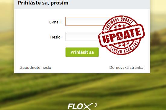update nových funkcií vo flox 3