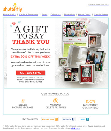 jak využít stránku s poděkováním za objednávku