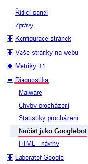 googlebot - indexácia nových stránok