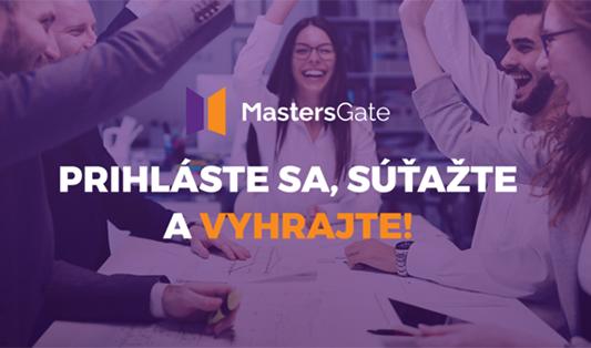 prihlasovanie do súťaže MastersGate spustené