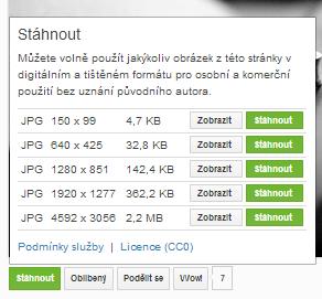 databáze obrázků