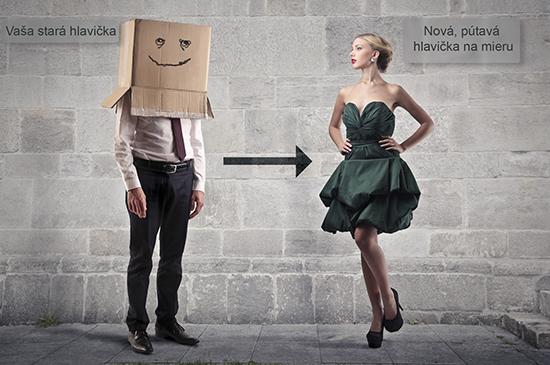 unikátna hlavička www stránky alebo e-shopu, webdesign web stránky, webdizajn e-shopu