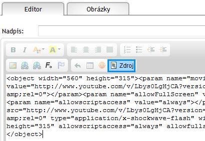 video na web stránky, video na www stránke, vloženie videa na web