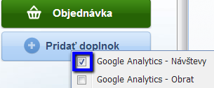widget google analytics